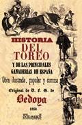Portada de HISTORIA DEL TOREO Y DE LAS PRINCIPALES GANADERIAS ESPAÑOLAS