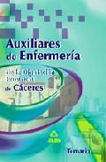Portada de AUXILIARES DE ENFERMERIA DE LA DIPUTACION PROVINCIAL DE CACERES: TEMARIO