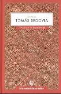 Portada de LA VOZ DE TOMAS SEGOVIA