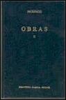 Portada de OBRAS
