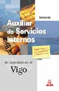 Portada de AUXILIAR DE SERVICIOS INTERNOS DEL AYUNTAMIENTO DE VIGO: TEMARIO