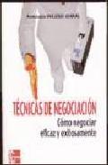 Portada de TECNICAS DE NEGOCIACION