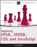Portada de BEGINNING HTML, XHTML, CSS, AND JAVASCRIPT (WROX PROGRAMMER TO PROGRAMMER)