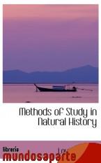 Portada de METHODS OF STUDY IN NATURAL HISTORY