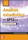 Portada de ANALISIS ESTADISTICO CON SPSS 14