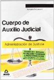 Portada de CUERPO DE AUXILIO JUDICIAL DE LA ADMINISTRACION DE JUSTICIA: TEMARIO
