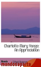 Portada de CHARLOTTE MARY YONGE: AN APPRECIATION