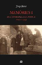 Portada de MEMÒRIES I (EBOOK)