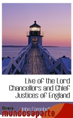 Portada de LIVE OF THE LORD CHANCELLORS AND CHIEF JUSTICES OF ENGLAND