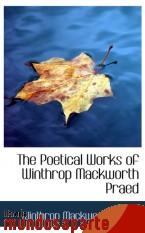Portada de THE POETICAL WORKS OF WINTHROP MACKWORTH PRAED