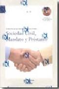 Portada de SOCIEDAD CIVIL, MANDATO Y PRESTAMO