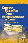 Portada de CUERPO EJECUTIVO DE CORREOS: PROMOCION INTERNA: TEMARIO