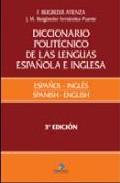 Portada de DICCIONARIO POLITECNICO LENGUA ESPAÑOLA E INGLES