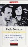 Portada de DE ODAS ELEMENTALES A MEMORIAL DE ISLA NEGRA, 1954-1964