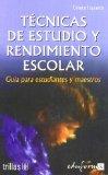 Portada de TECNICAS DE ESTUDIO Y RENDIMIENTO ESCOLAR