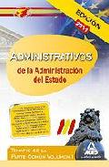 Portada de ADMINISTRATIVOS DE LA ADMINISTRACION DEL ESTADO: TEMARIO DE LA PARTE COMUN. VOLUMEN I