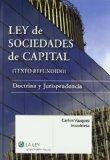 Portada de LEY DE SOCIEDADES DE CAPITAL: DOCTRINA Y JURISPRUDENCIA