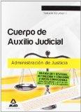 Portada de CUERPO DE AUXILIO JUDICIAL DE LA ADMINISTRACION DE JUSTICIA. TEMARIO, VOLUMEN II