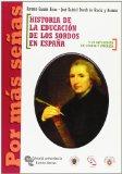 Portada de HISTORIA DE LA EDUCACION DE LOS SORDOS EN ESPAÑA Y SU INFLUENCIA EN EUROPA Y AMERICA
