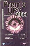 Portada de PREMIO UPC 2003: CINCO NARRACIONES
