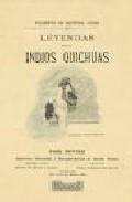 Portada de LEYENDAS DE LOS INDIOS QUINCHUAS