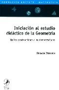 Portada de INICIACION AL ESTUDIO DIDACTICO DE LA GEOMETRIA: DE LAS CONSTRUCCIONES A LAS DEMOSTRACIONES