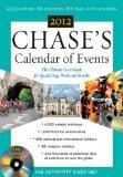 Portada de CHASES CALENDAR OF EVENTS 2012