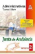 Portada de ADMINISTRATIVOS DE LA JUNTA DE ANDALUCIA. TURNO LIBRE. TEMARIO. VOLUMEN II