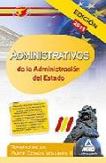 Portada de ADMINISTRATIVOS DE LA ADMINISTRACION DEL ESTADO. TEMARIO DE LA PARTE COMUN. VOLUMEN II