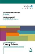 Portada de CIENCIAS NATURALES: FISICA Y QUIMICA. GRADUADO EN EDUCACION SECUNDARIA . CICLOS FORMATIVOS DE FP