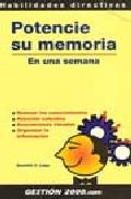 Portada de POTENCIE SU MEMORIA EN UNA SEMANA