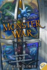 Portada de NIGHTMARE ACADEMY #3: MONSTER WAR