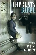 Portada de IMPRENTA BABEL