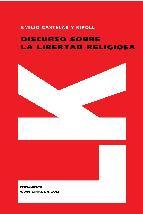 Portada de DISCURSO SOBRE LA LIBERTAD RELIGIOSA (EBOOK)