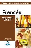 Portada de CUERPO DE PROFESORES DE ENSEÑANZA SECUNDARIA: FRANCES. PROGRAMACION DIDACTICA