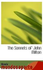 Portada de THE SONNETS OF JOHN MILTON