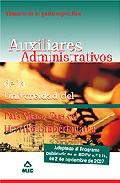Portada de TEMARIO PARTE ESPECIFICA DE LOS AUXILIARES ADMINISTRATIVOS DE LA UNIVERSIDAD DEL PAIS VASCO