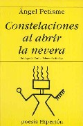Portada de CONSTELACIONES AL ABRIR LA NEVERA