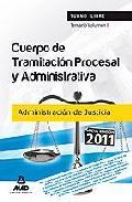 Portada de CUERPO DE TRAMITACION PROCESAL Y ADMINISTRATIVA  DE LA ADMINISTRACION DE JUSTICIA TEMARIO VOLUMEN II