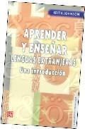 Portada de APRENDER Y ENSEÑAR LENGUAS EXTRANJERAS. UNA INTRODUCCION