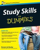 Portada de STUDY SKILLS FOR DUMMIES