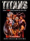 Portada de TITANS: THE HEROIC VISIONS OF BORIS VALLEJO AND JULIE BELL