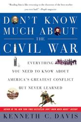Portada de DON'T KNOW MUCH ABOUT THE CIVIL WAR