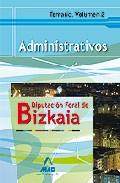 Portada de ADMINISTRATIVOS DE LA ADMINISTRACION FORAL DE BIZKAIA