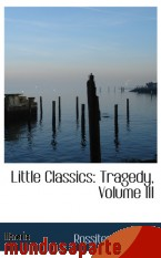 Portada de LITTLE CLASSICS: TRAGEDY, VOLUME III