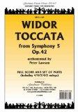 Portada de TOCCATA ARRANGED BY LAWSON: SCORE AND PARTS FOR ORCHESTRA