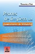 Portada de PEONES DE LIMPIEZA DEL AYUNTAMIENTO DE VALLADOLID: TEMARIO Y TEST