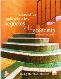 Portada de ESTADISTICA APLICADA A LOS NEGOCIOS Y ECONOMIA (13ªED.)