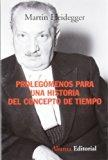Portada de PROLEGOMENOS PARA UNA HISTORIA DEL CONCEPTO DE TIEMPO