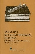 Portada de LA CALIDAD DE LAS UNIVERSIDADES EN ESPAÑA: ELABORACION DE UN INDICE MULTIDIMENSIONAL